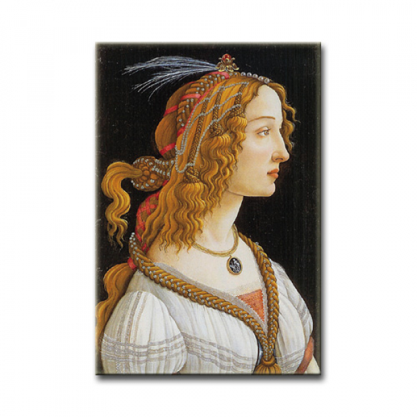 Botticelli, Weibliches Idealbildnis