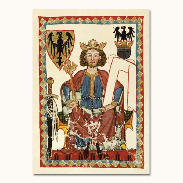Codex Manesse - Kaiser Heinrich
