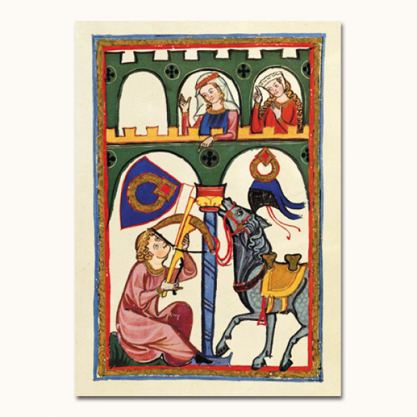 Codex Manesse - Herr Rubin
