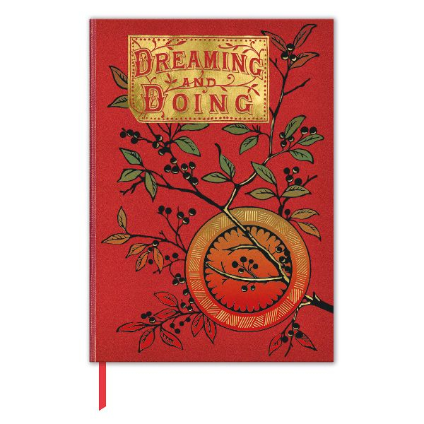 "Buchcover-Notizbuch ""Little Dot Series - Dreaming and Doing"""