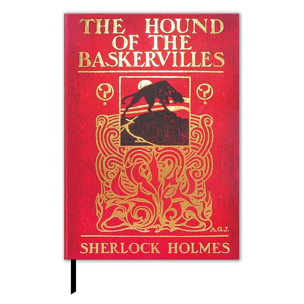 "Buchcover-Notizbuch ""Doyle - The Hound of the Baskervilles"""