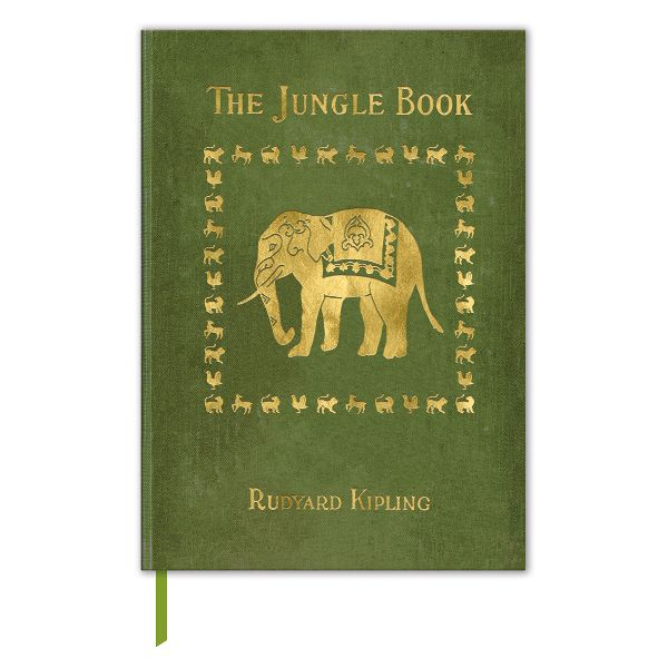 "Buchcover-Notizbuch ""Kipling - The Jungle Book"""