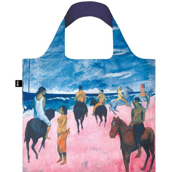 "LOQI Tasche ""Paul Gaugin, Horseman on the Beach"""
