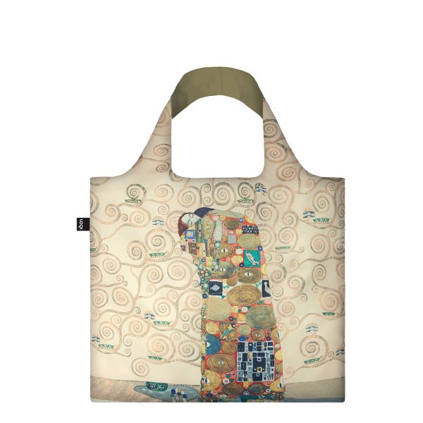 "LOQI Tasche ""Gustav Klimt, The Fulfilment"""