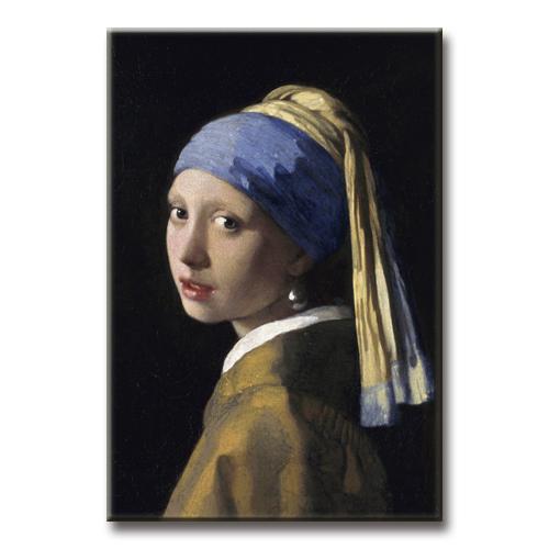 Magnet - Vermeer, Das Mädchen mit dem Perlenohrring