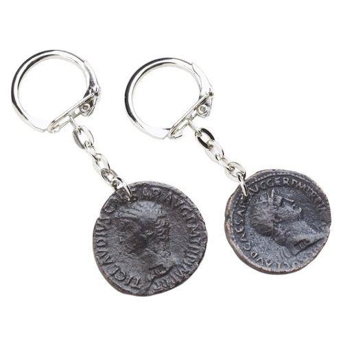 Schlüsselanhänger Römische Münzen