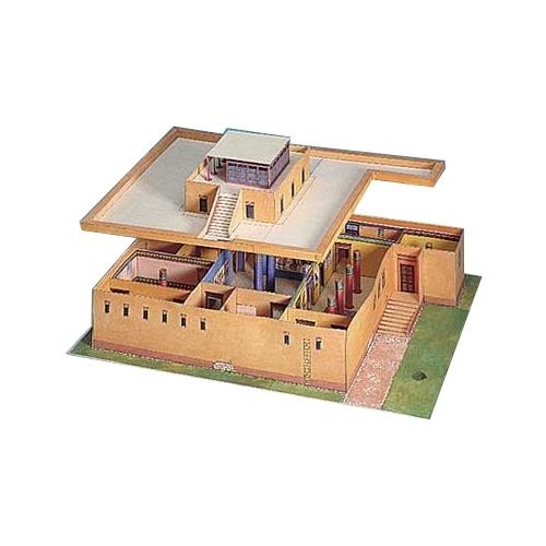 Tempel in Ägypten Bastelbogen